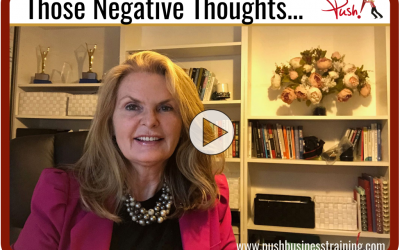 Those Negative Thoughts…
