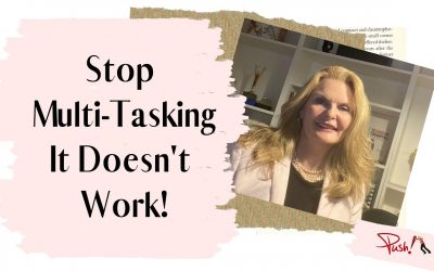Stop Multi-Tasking… It Doesn't Work!